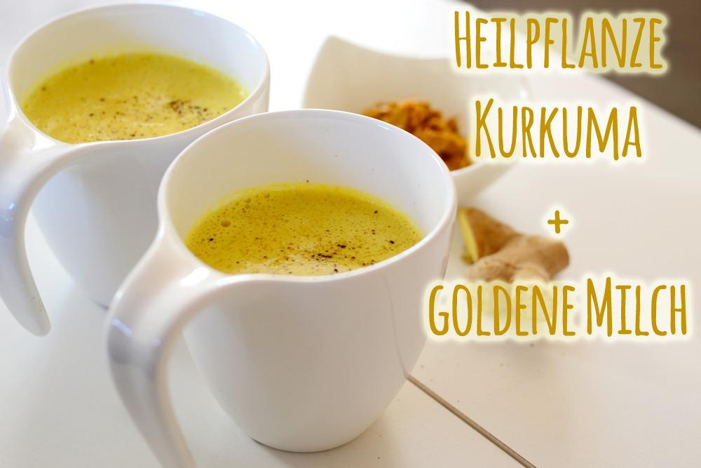 Read more about the article Superfood Kurkuma + goldene Milch-Rezept