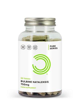 BULK POWDERS™ Bulbin Natalensis Tabletten enthalten ganze 750 mg der leistungsstärksten im Handel erhältlichen Quelle von Bulbin Natalensis.Die meisten Nahrungsergänzungsmittel mit Bulbin enthalten nur 500 mg pro Tablette und sind auch häufig von minderwertiger Qualität. BULK POWDERS™ Bulbin Natalensis wird direkt aus Südafrika bezogen