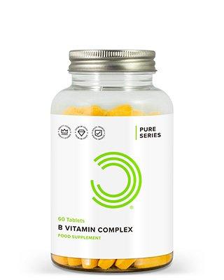 BULK POWDERS™ Vitamin B-Komplex Tabletten enthalten 11 verschiedene B-Vitamine
