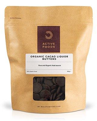 BULK POWDERS™ Bio Kakao Linsen werden aus der beliebten Kakaobohne hergestellt
