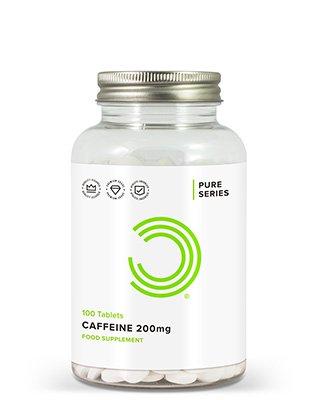 BULK POWDERS™ Koffein Tabletten enthalten leistungsstarke 200 mg Koffein von höchster Qualität. Koffein-Tabletten gehören zu den meistverkauften Produkten von BULK POWDERS™ und das aus gutem Grund. Sie sind äußerst kostengünstig und bieten ein unschlagbares Preis-Leistungs-Verhältnis im Vergleich zu anderen Marken.Koffein wirkt extrem stimulierend und ist damit ein perfektes Mittel