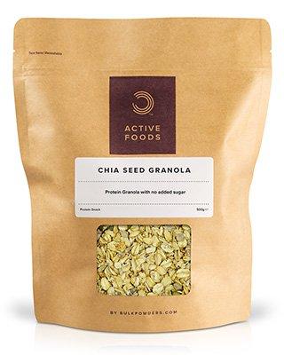 BeschreibungBULK POWDERS™ Chia Samen Müsli ist ein hochwertiges Müsli mit knusprigen Haferflocken und einer köstlichen Mischung aus Chiasamen