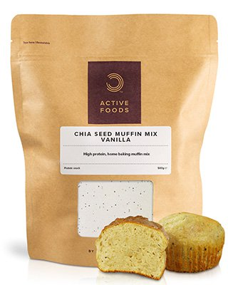 BeschreibungBULK POWDERS™ Chiasamen-Muffinmix ist das perfekte Produkt für Backfans. Chiasamen-Muffins sind unglaublich einfach zuzubereiten und in nur 30 Minuten fertig