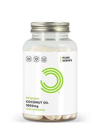BeschreibungBULK POWDERS™ Kokosöl Kapseln 1000 mg liefern Kokosöl in einer praktischen und leicht einnehmbaren Form. Diese Weichkapseln mit einem Gramm hochwertigem Kokosöl pro Kapsel eignen sich ideal