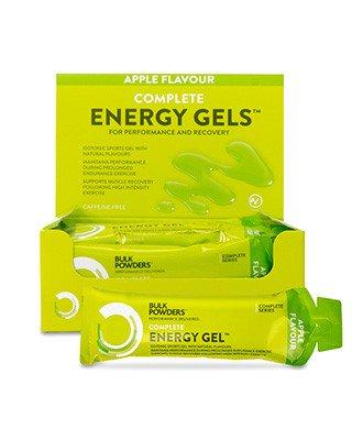WAS SIND COMPLETE ENERGY GELE™?Sowohl für das regelmäßige Training als auch für Wettkämpfe liefern BULK POWDERS® Complete Energy Gele™ eine Kombination aus Kohlenhydraten