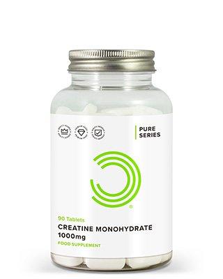 BeschreibungBULK POWDERS™ Kreatin-Monohydrat-Tabletten enthalten 1000 mg hochreines Kreatin der höchsten Qualität pro Tablette. Kreatin-Monohydrat-Tabletten sind leicht einzunehmen und bieten damit eine äußerst praktische Methode der Kreatin-Nahrungsergänzung.Kreatin-Monohydrat ist wohl die am meisten untersuchte Nahrungsergänzung für Sportler