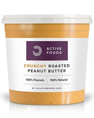 Erdnussbutter von BULK POWDERS™ liefert Ihnen pro Behälter ganze 1kg von hochwertiger und reinerErdnussbutter. BULK POWDERS™ Erdnussbutterwird aus 100% reinen Erdnüssen ohne jegliche Zusätze hergestellt. Das bedeutet