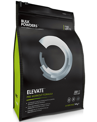ELEVATE™ist eine hocheffektivePre-Workout-Nahrungsergänzung.Bei der Entwicklung von ELEVATE™ haben wir uns ausschließlich auf Inhaltsstoffe konzentriert
