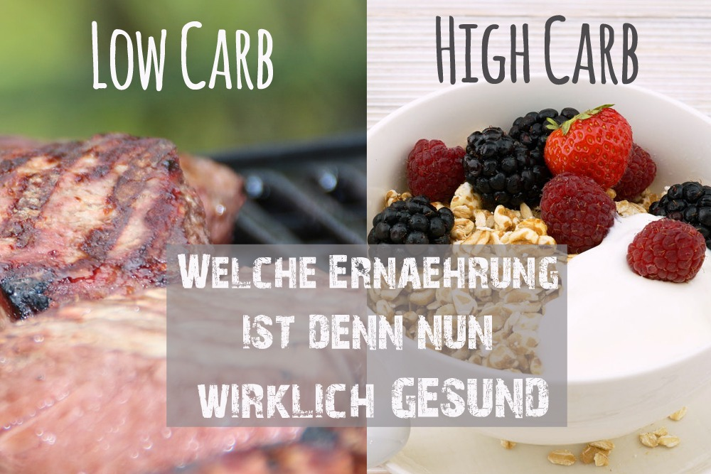 You are currently viewing Low Carb, High Carb?- Doch was ist wirklich gesund?