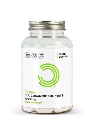BULK POWDERS™ Glucosamin Sulfat Tabletten enthalten ganze 1000 mg vonhochwertigemGlucosamin Sulfatund gewährleisten damit optimale Ergebnisse.Glucosamin Sulfat ist ein Aminozucker