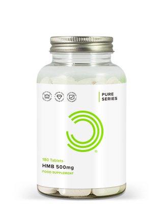 BULK POWDERS™ HMB Kapseln enthalten unglaubliche 500 mg dieses hochwirksamen Nahrungsergänzungsmittels zur Steigerung der Muskelkraft und zum Aufbau von Muskelmasse.HMB ist ein Stoffwechselprodukt von Leucin
