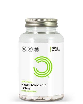 BULK POWDERS™ Hyaluronsäure-Tabletten enthalten ganze 150mg Hyaluronsäure von top Qualität pro Tablette