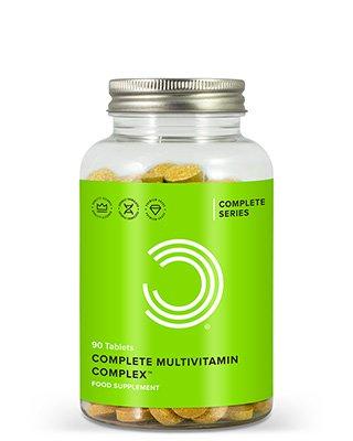 Complete Multivitamin-Komplex ist eine hochwertige Formulierung