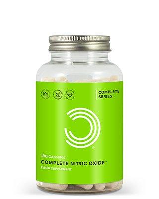 Complete Stickoxid ist eine leistungsstarke Mischung aus 6 hochwirksamen Inhaltsstoffen