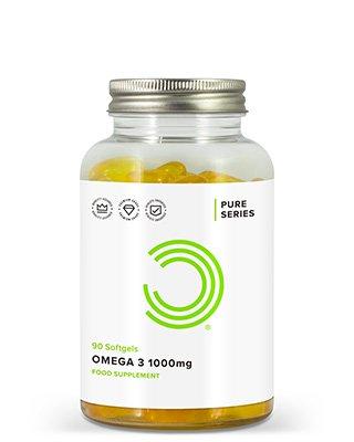 Omega 3 Fischöl von BULK POWDERS™ liefert Ihnen 1000 mg von hochwertigem Omega 3 pro Portion. Das Präparat ist frei von Zusatzstoffen und Schwermetallen und reich an den essentiellen Fettsäuren Docosahexaenoidsäure (DHA – 120 mg pro Weichkapsel) und Eicosapentaensäure (EPA – 180 mg pro Weichkapsel).Omega 3 wird als essentielle Fettsäure angesehen
