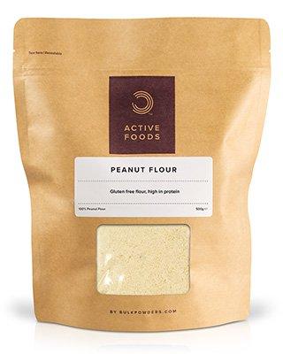 BULK POWDERS™ Erdnussmehl ist von höchster Qualität und besteht zu 100 % aus Erdnüssen
