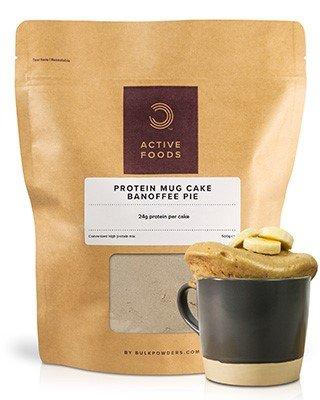 WAS IST PROTEIN TASSENKUCHEN MIX?Jede Portion BULK POWDERS® Protein Tassenkuchen Mix ergibt einen praktischen