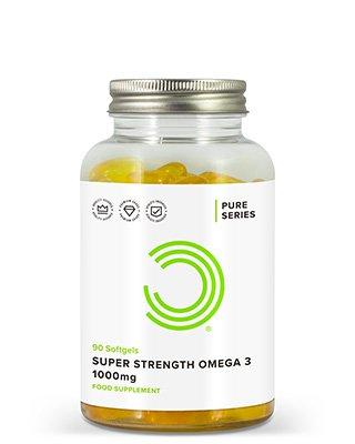 BULK POWDERS™ Extra-starke Omega 3 Weichkapseln enthalten 1000 mg reines Omega 3-Fischöl. Sie liefern ganze 330 mg EPA (Eicosapentaensäure) und 220 mg DHA (Docosahexaensäure) pro Weichkapsel.Der beachtliche EPA- und DHA-Anteil verleiht diesem Produkt die Bezeichnung 'Extra stark'. In der Tat sind diese Weichkapseln wesentlich höher dosiert alsOmega 3-Präparate Anbieter