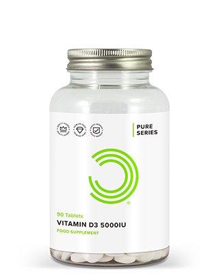 BULK POWDERS™ Vitamin D3-Tabletten bieten einehohe Bioverfügbarkeit des wichtigen