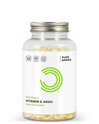 BULK POWDERS™ Vitamin E enthält 400 I.E. pro Weichkapsel. Das entspricht 420 mg Vitamin E in Form von DL-Alpha Tocopherol.Ein ausreichend hoher Vitamin E-Spiegel ist für alle wichtig