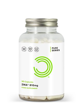 BULK POWDERS™ ZMA®-Kapseln sind die offizielle patentierte Version des beliebten Vitamin- und Mineralstoffpräparats.ZMA® ist ein beliebtesNahrungsergänzungspräparat vorallem unter Männern. Es wird in erster Linie zur Steigerung der T-Werte verwendet