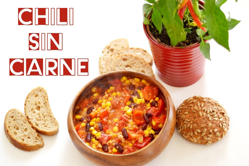Read more about the article Chili sin Carne: lecker, feurig & schnell zubereitet (vegan)