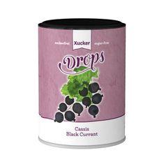 Viel Geschmack für Ihre Zähne Drops mit Cassisgeschmack (schwarzeJohannisbeere)mit Süßungsmittel Xylit