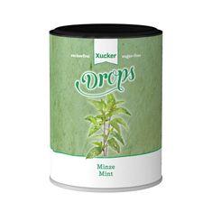 Die mild-minzigeZahnpflege Drops mit Minzgeschmackmit Süßungsmittel Xylit