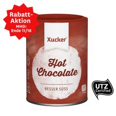 Kakaogetränke-Pulvermit Süßungsmittel Xylit in einer Dose. Vegan. Versandgewicht: 433 g Diese lecker-cremige Trinkschokolade ist nur mit Xylit gesüßt. Sie eignet sich für die Herstellung von Heißgetränken