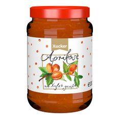 Fruchtig-leckerer Genuss mit 80% Fruchtanteil Aprikose-Fruchtaufstrich:mit Süßungsmittel Xylit (aus Finnland). Ohne Gentechnik