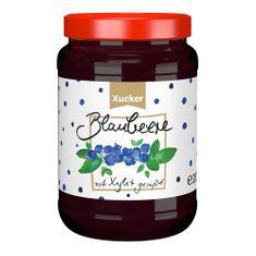 Fruchtig-leckerer Genuss mit 80% Fruchtanteil Blaubeere-Fruchtaufstrich:mit Süßungsmittel Xylit (aus Finnland). Ohne Gentechink