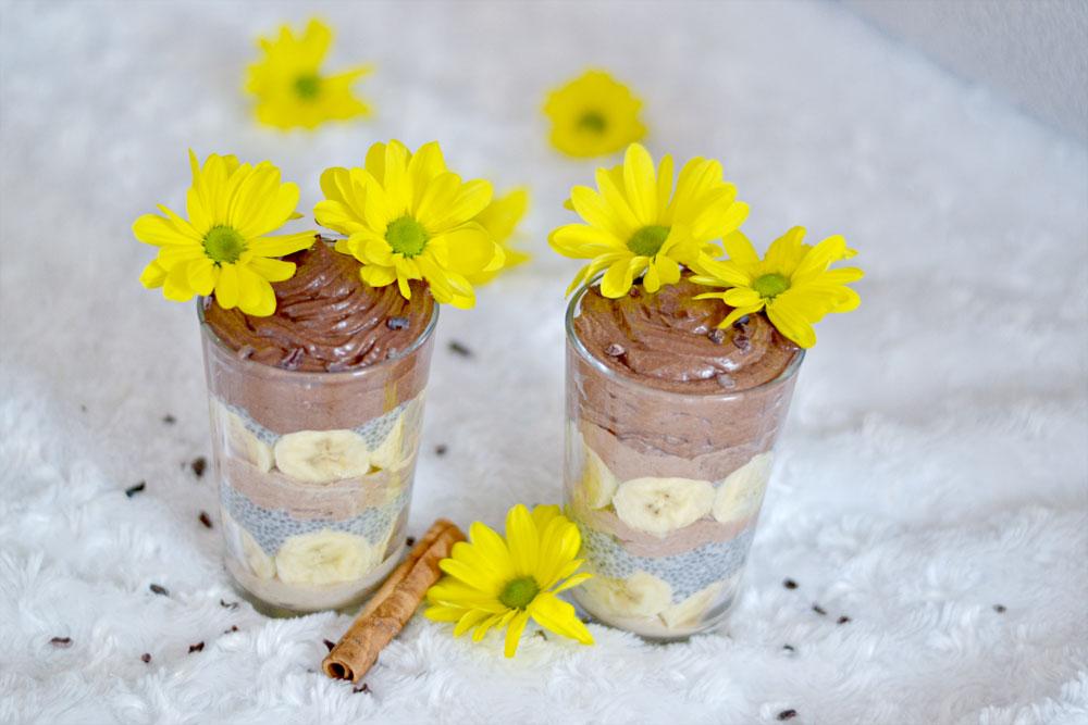 Banana-Chia-Chocolate Jar