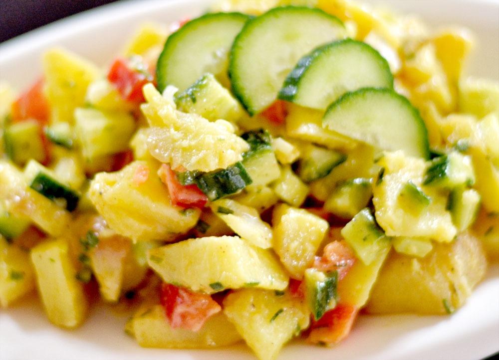 Read more about the article Basischer Kartoffelsalat- laktosefrei, vegan, glutenfrei