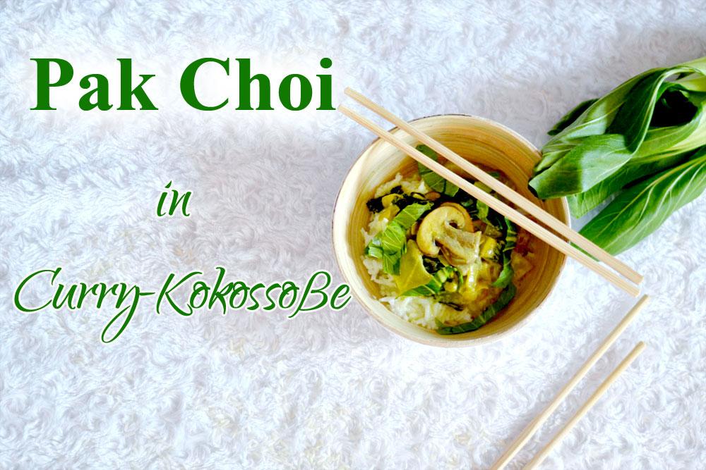 Pak Choi in Curry-Kokossoße